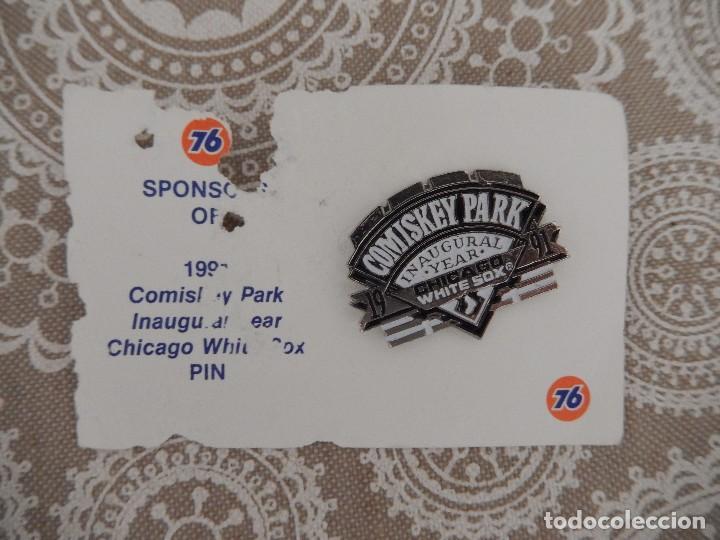 PIN COMISKEY PARK CHICAGO WHITE SOX (Coleccionismo Deportivo - Pins otros Deportes)
