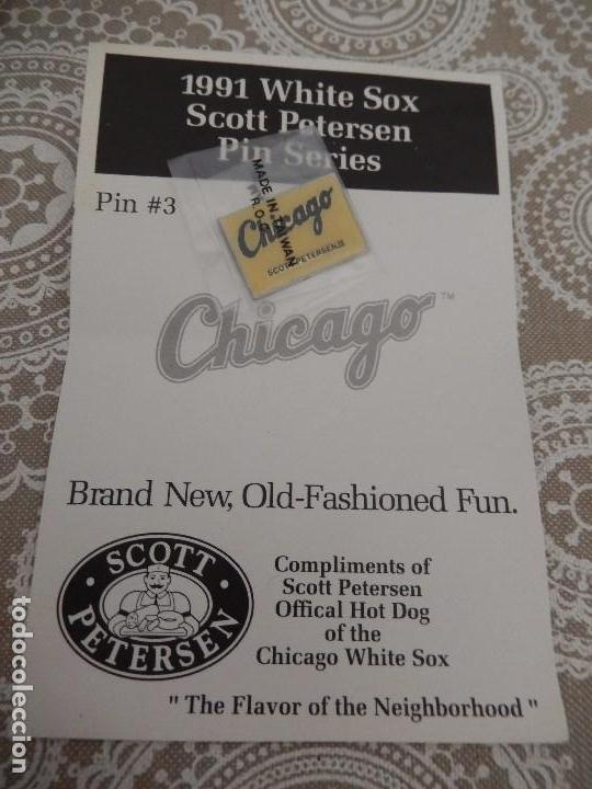 1991 WHITE SOX SCOTT PETERSEN PIN SERIES (Coleccionismo Deportivo - Pins otros Deportes)