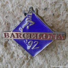 Coleccionismo deportivo: PIN BARCELONA 92 ATLETISMO. Lote 89938360