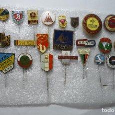 Coleccionismo deportivo: LOTE DE PINS DE DIFERENTES DEPORTES EXTRANJEROS. Lote 92682860