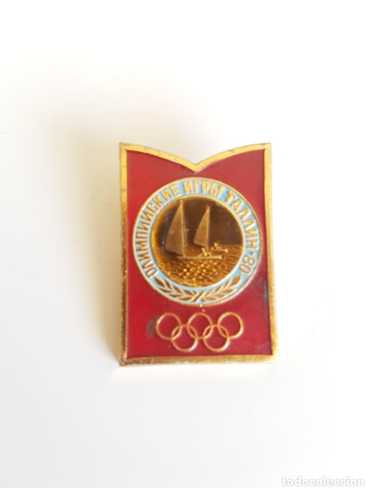 ESPECTACULAR PIN DE VELA DE LOS JUEGOS OLÍMPICOS DE MOSCÚ 1980 (Coleccionismo Deportivo - Pins otros Deportes)