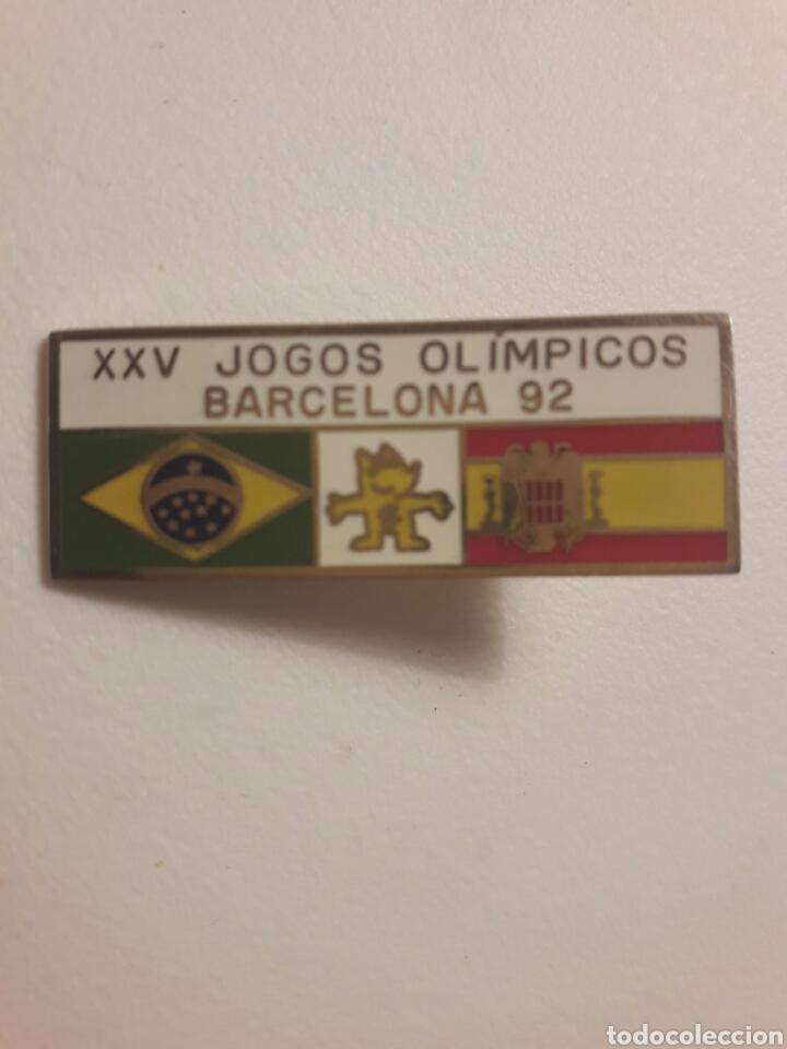 PIN EXCLUSIVO BARCELONA 92 FRANQUISTA (Coleccionismo Deportivo - Pins otros Deportes)