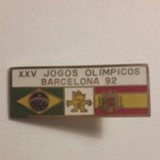 Coleccionismo deportivo: PIN EXCLUSIVO BARCELONA 92 FRANQUISTA. Lote 96035402