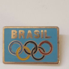 Coleccionismo deportivo: INSIGNIA OLIMPICA BRASIL EDICIÓN LIMITADA A 1000 UNIDADES. Lote 96101192