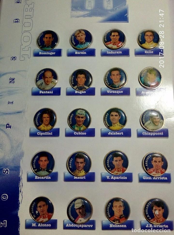 PINS DEL TOUR '95 (Coleccionismo Deportivo - Pins otros Deportes)