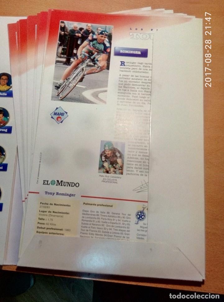 Coleccionismo deportivo: PINS DEL TOUR 95 - Foto 2 - 96548783