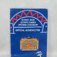 Coleccionismo deportivo: PIN OLIMPICO OLIMPIADA SYDNEY 2000 OPENING CEREMONY OFFICIAL AUDIENCE PIN CEREMONIA APERTURA. Lote 100738035