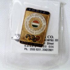 Coleccionismo deportivo: PIN OLIMPIADA ATENAS ATHENS 2004 GRECIA COMITE OLIMPICO DE INDIA EN BLISTER. Lote 100765883