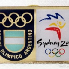 Coleccionismo deportivo: PIN OLIMPICO OLIMPIADA SYDNEY 2000 COMITE OLIMPICO ARGENTINO. Lote 100766139
