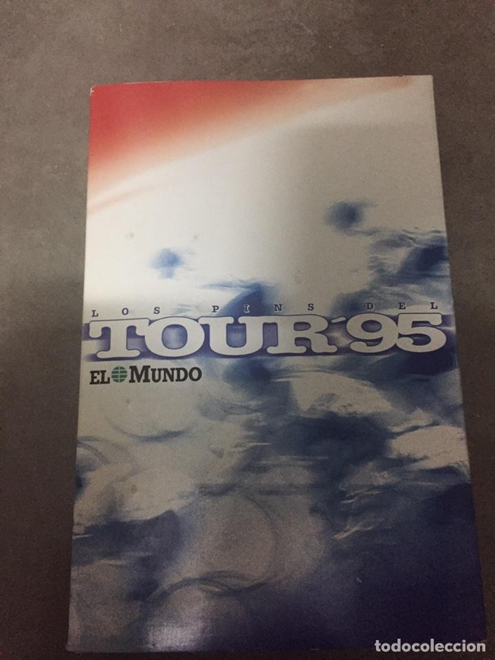 PINS DEL TOUR 95 EL MUNDO. COLECCION INCOMPLETA. (Coleccionismo Deportivo - Pins otros Deportes)