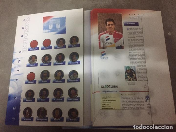 Coleccionismo deportivo: PINS DEL TOUR 95 EL MUNDO. COLECCION INCOMPLETA. - Foto 2 - 24170133