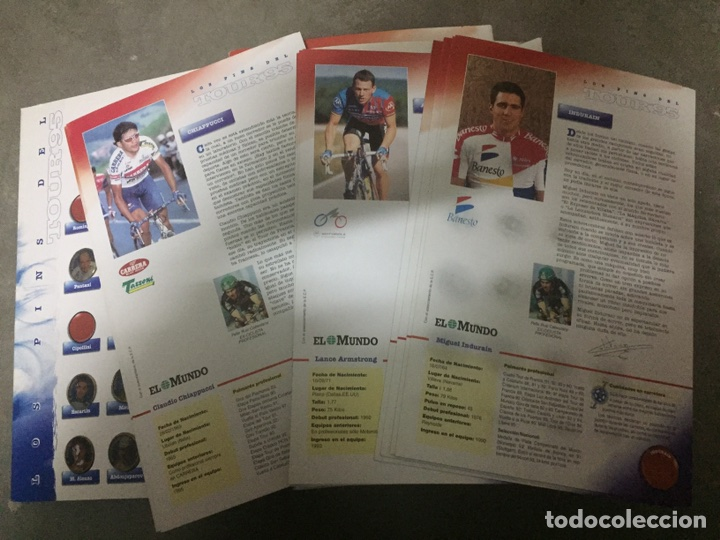 Coleccionismo deportivo: PINS DEL TOUR 95 EL MUNDO. COLECCION INCOMPLETA. - Foto 3 - 24170133