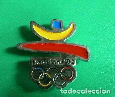 Pin Olimpiadas Barcelona 92 Logo Y Aros Emb Comprar En