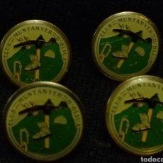 Coleccionismo deportivo: CUATRO PINS CLUB MUNTANYER D'OLIVA. Lote 103379810