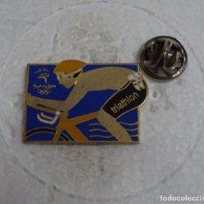 Colecionismo desportivo: PIN DE DEPORTES. JUEGOS OLÍMPICOS DE SYDNEY 2000 AUSTRALIA. TRIATHLON, TRIATLON. Lote 103636427