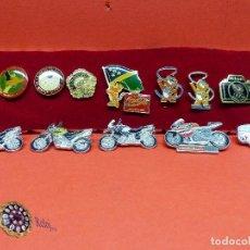Coleccionismo deportivo: ,,,PINS OLIMPIADAS Y MOTOS,,,. Lote 105390059