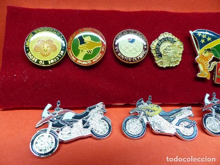 Coleccionismo deportivo: ,,,PINS OLIMPIADAS Y MOTOS,,, - Foto 2 - 105390059