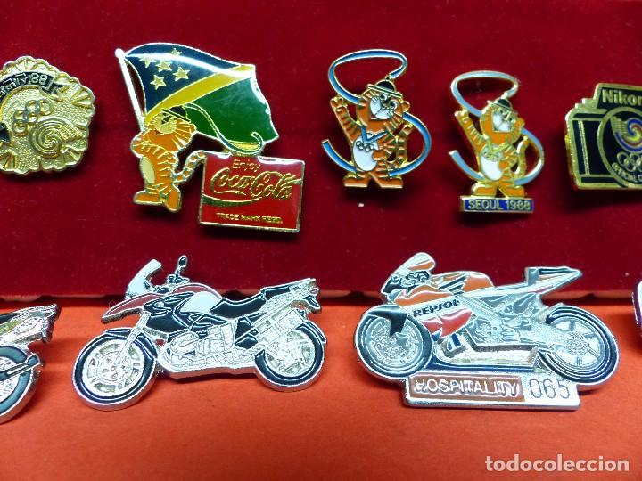 Coleccionismo deportivo: ,,,PINS OLIMPIADAS Y MOTOS,,, - Foto 3 - 105390059