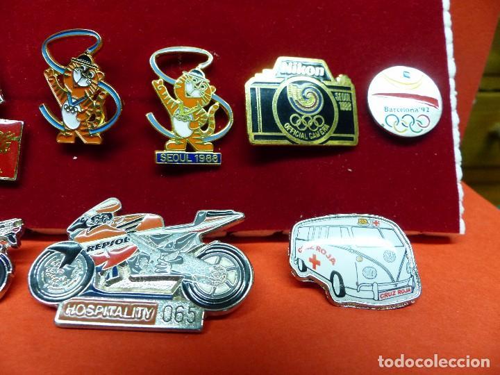Coleccionismo deportivo: ,,,PINS OLIMPIADAS Y MOTOS,,, - Foto 4 - 105390059