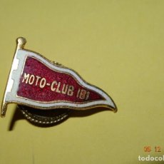 Coleccionismo deportivo: ANTIGUA INSIGNIA DE OJAL DEL MOTO CLUB DE IBI - AÑO 1960-70S.. Lote 105857707