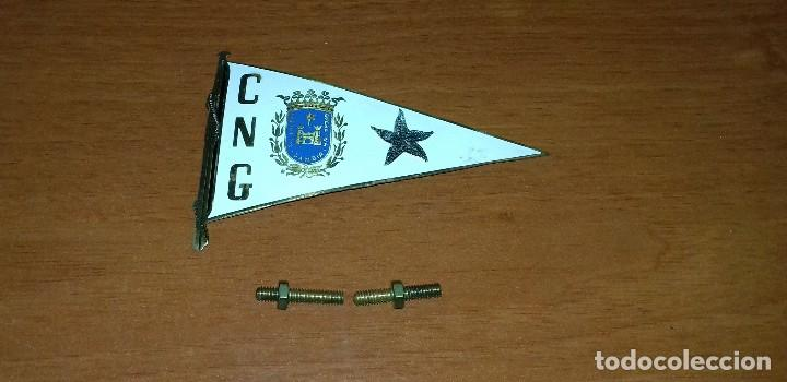 INSIGNIA C.N.G CLUB NAUTICO DE DE GANDIA SIC LUCENT OPERA TUA.10.5 X 7 CM. (Coleccionismo Deportivo - Pins otros Deportes)
