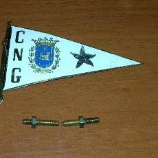 Coleccionismo deportivo: INSIGNIA C.N.G CLUB NAUTICO DE DE GANDIA SIC LUCENT OPERA TUA.10.5 X 7 CM.. Lote 109215455