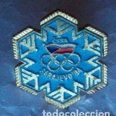 Coleccionismo deportivo: INSIGNIA OFICIAL DEL COMITÉ OLÍMPICO CHECOSLOVACO. SARAJEVO 84 . Lote 112810071