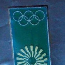 Coleccionismo deportivo: INSIGNIA OFICIAL DE LOS JUEGOS DE MUNICH DEL 1972. Lote 112810259