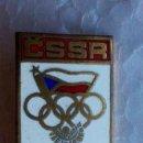 Coleccionismo deportivo: INSIGNIA DEL EQUIPO CHECO DE MUNICH'72. Lote 113428455