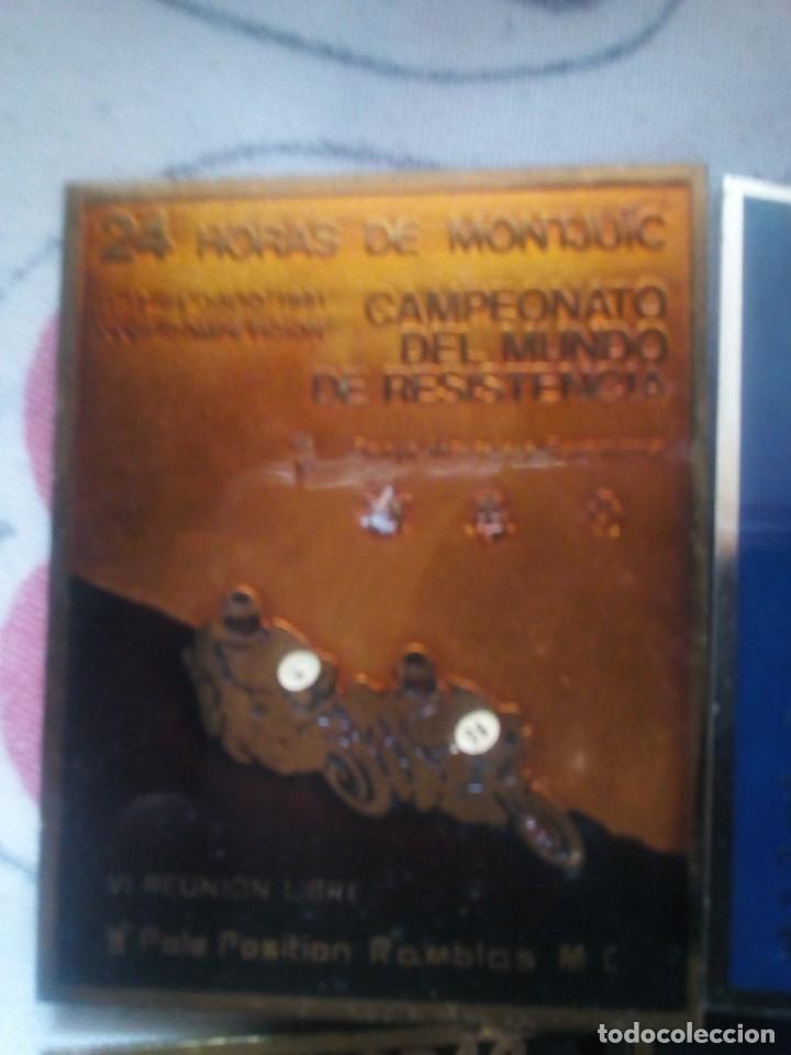 Coleccionismo deportivo: LOTE 6 INSIGNIAS 24 HORAS DE MONTJUIC 1979-81-82-83-84-86 - Foto 2 - 114863419