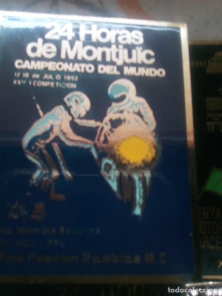 Coleccionismo deportivo: LOTE 6 INSIGNIAS 24 HORAS DE MONTJUIC 1979-81-82-83-84-86 - Foto 3 - 114863419