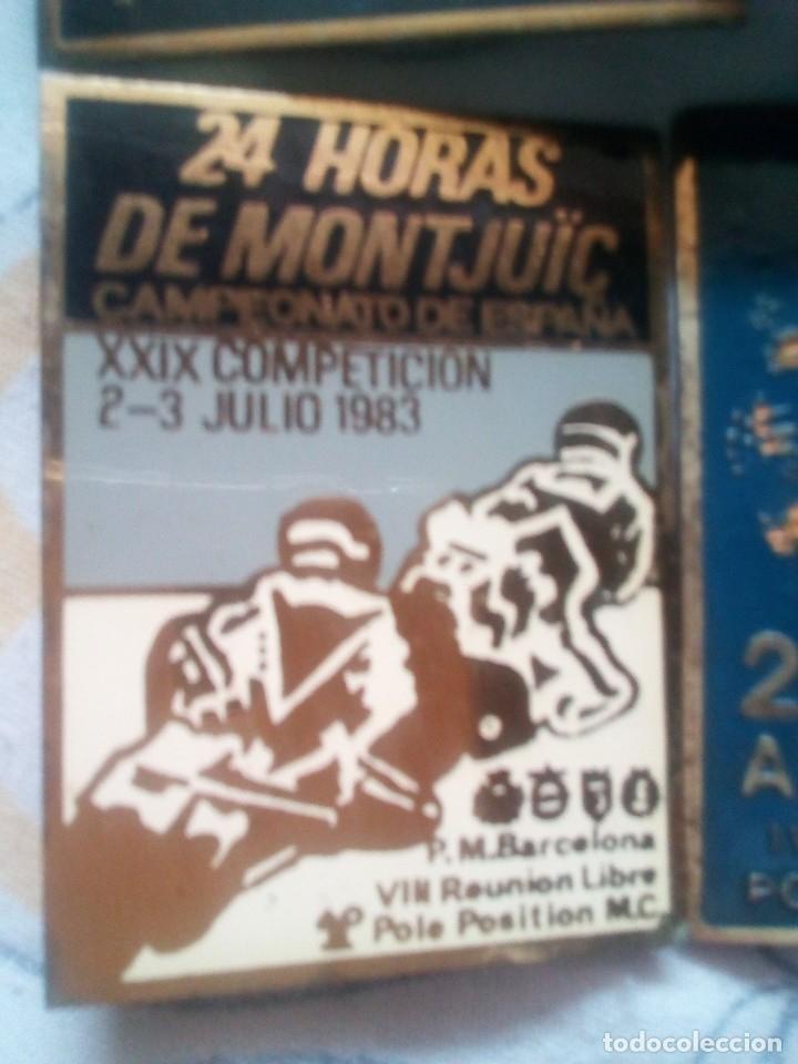 Coleccionismo deportivo: LOTE 6 INSIGNIAS 24 HORAS DE MONTJUIC 1979-81-82-83-84-86 - Foto 6 - 114863419