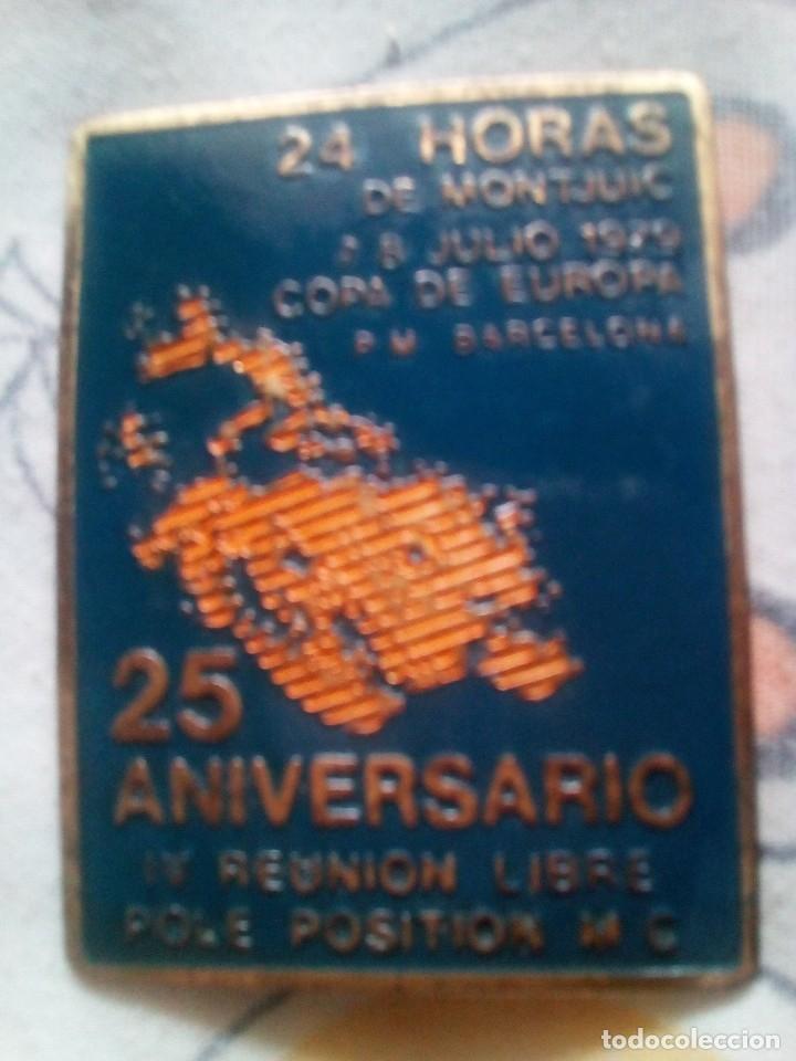 Coleccionismo deportivo: LOTE 6 INSIGNIAS 24 HORAS DE MONTJUIC 1979-81-82-83-84-86 - Foto 7 - 114863419