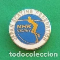 Coleccionismo deportivo: PIN JAPAN SKATING FEDERATION. Lote 115302823