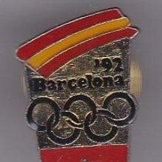 Coleccionismo deportivo: PIN DEL COMITE OLIMPICO DE SUIZA - PIN DE LAS OLIMPIADAS DE BARCELONA 92 - AROS OLIMPICOS. Lote 115902699