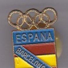 Coleccionismo deportivo: PIN DEL COMITE OLIMPICO DE ESPAÑA - PIN DE LAS OLIMPIADAS DE BARCELONA 92 - AROS OLIMPICOS. Lote 115903995