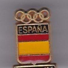 Coleccionismo deportivo: PIN DEL COMITE OLIMPICO DE ESPAÑA - PIN DE LAS OLIMPIADAS DE BARCELONA 92 - AROS OLIMPICOS. Lote 115904027