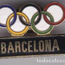 Coleccionismo deportivo: PIN DE BARCELONA - OLIMPIADAS DE BARCELONA 92 - AROS OLIMPICOS. Lote 115904431