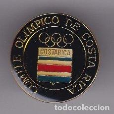 Coleccionismo deportivo: PIN DEL COMITE OLIMPICO DE COSTA RICA (RARO). Lote 116069507