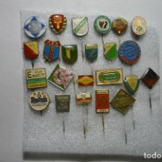 Coleccionismo deportivo: LOTE DE PINS EXTRANJEROS DE DIFERENTES DEPORTES CON AGUJA. Lote 116802199