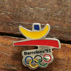 Coleccionismo deportivo: PIN LOGO OLIMPIADAS BARCELONA 1992.. Lote 117453596
