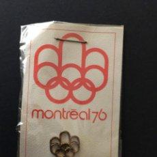 Coleccionismo deportivo: OLIMPIADAS DE MONTREAL 1976. INSIGNIA.NUEVA.. Lote 118517911