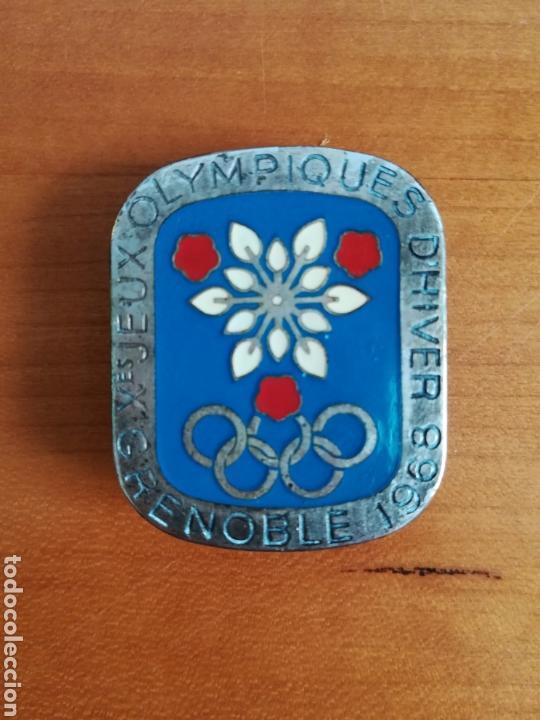 Insignia Doble Aguja X Juegos Olimpicos De Invi Comprar En