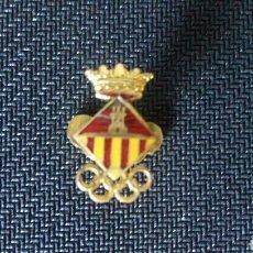 Coleccionismo deportivo: PIN INSIGNIA CATALANA OLIMPIADAS ESMALTE. Lote 124274215