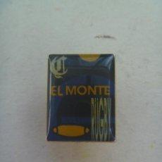 Coleccionismo deportivo: PIN PUBLICITARIO DE EL MONTE DE SEVILLA : EQUIPO DE RUGBY. Lote 126685935