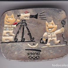Coleccionismo deportivo: PIN DE COBI PERIODISTA-CAMARA TV DE LAS OLIMPIADAS DE BARCELONA 92 (NUEVO) RTO. Lote 78220069