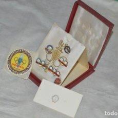 Coleccionismo deportivo: AÑO 1976 - DIVISA DE LOS DEPORTES DE POLONIA CON PINES - OLIMPIADAS DE MONTREAL DE 1976 - ENVÍO24H. Lote 134754042