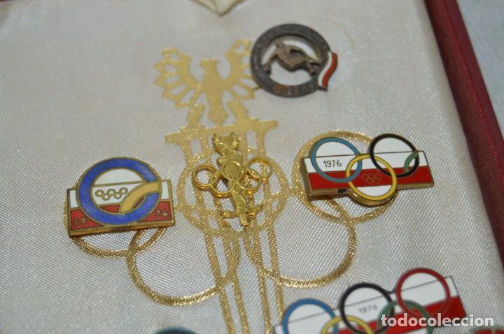 Coleccionismo deportivo: AÑO 1976 - DIVISA DE LOS DEPORTES DE POLONIA CON PINES - OLIMPIADAS DE MONTREAL DE 1976 - ENVÍO24H - Foto 9 - 134754042
