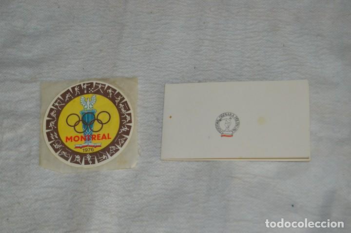 Coleccionismo deportivo: AÑO 1976 - DIVISA DE LOS DEPORTES DE POLONIA CON PINES - OLIMPIADAS DE MONTREAL DE 1976 - ENVÍO24H - Foto 14 - 134754042