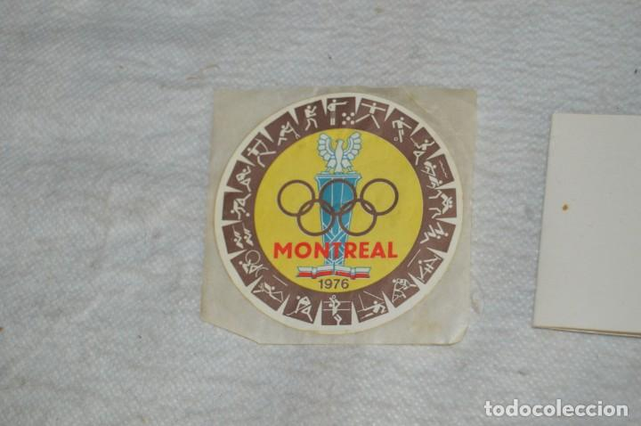 Coleccionismo deportivo: AÑO 1976 - DIVISA DE LOS DEPORTES DE POLONIA CON PINES - OLIMPIADAS DE MONTREAL DE 1976 - ENVÍO24H - Foto 15 - 134754042